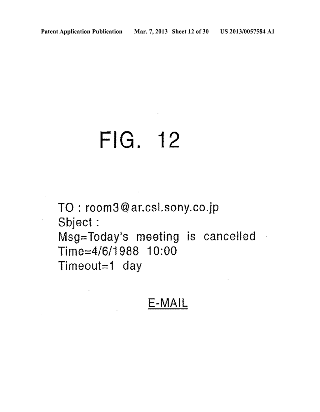 INFORMATION PROCESSING APPARATUS AND METHOD, INFORMATION PROCESSING     SYSTEM, AND PROVIDING MEDIUM - diagram, schematic, and image 13