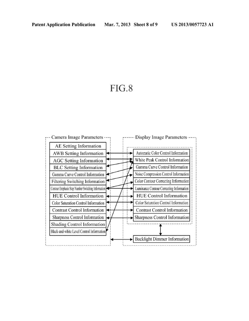 IMAGING SYSTEM, IMAGING DEVICE AND DISPLAY DEVICE - diagram, schematic, and image 09