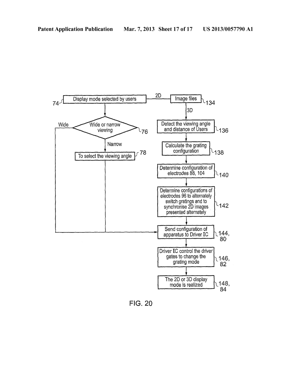 Apparatus, Methods and Computer Programs for configuring Output of a     Display - diagram, schematic, and image 18