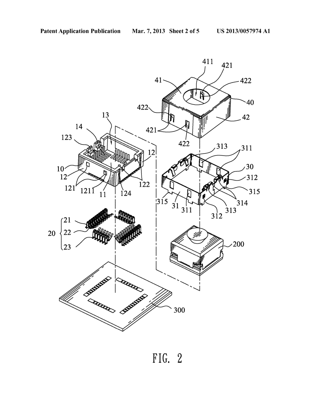 LENS MODULE SOCKET - diagram, schematic, and image 03