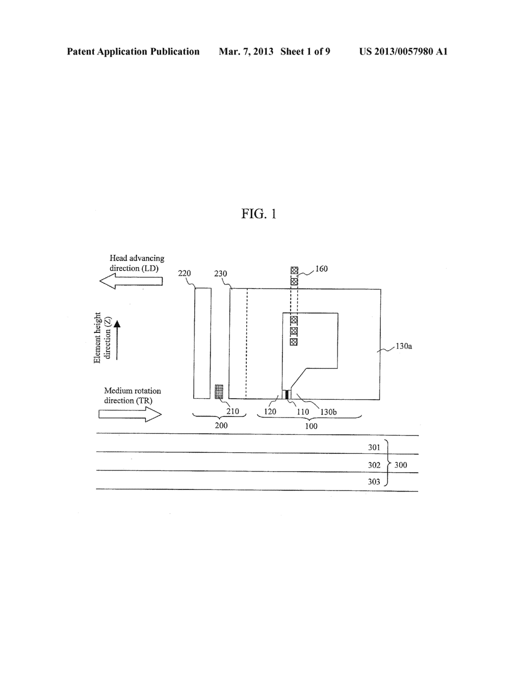 MAGNETIC RECORDING HEAD AND MAGNETIC RECORDING APPARATUS - diagram, schematic, and image 02