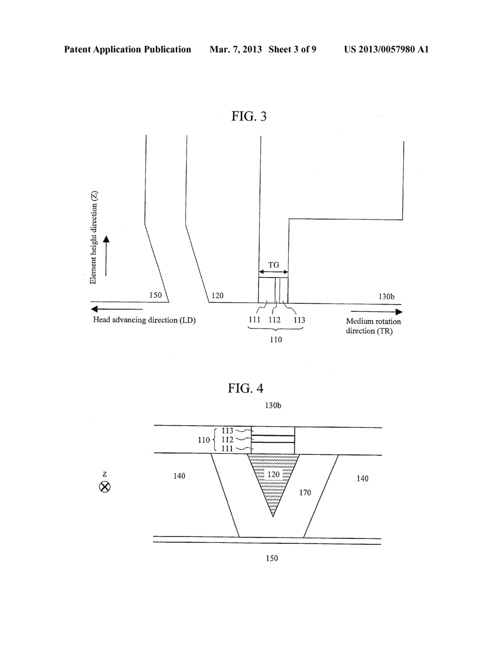 MAGNETIC RECORDING HEAD AND MAGNETIC RECORDING APPARATUS - diagram, schematic, and image 04