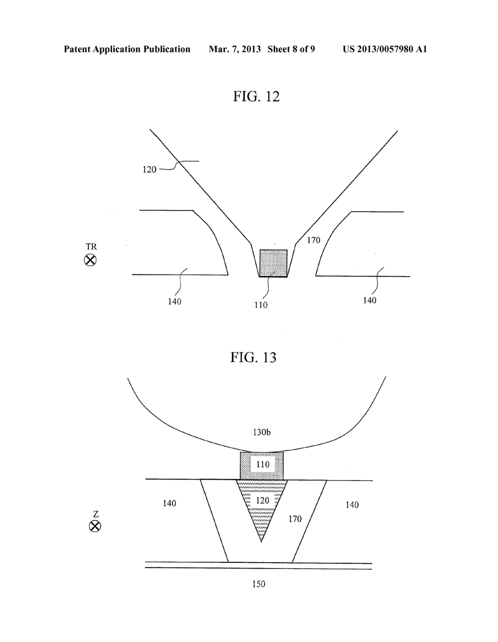MAGNETIC RECORDING HEAD AND MAGNETIC RECORDING APPARATUS - diagram, schematic, and image 09
