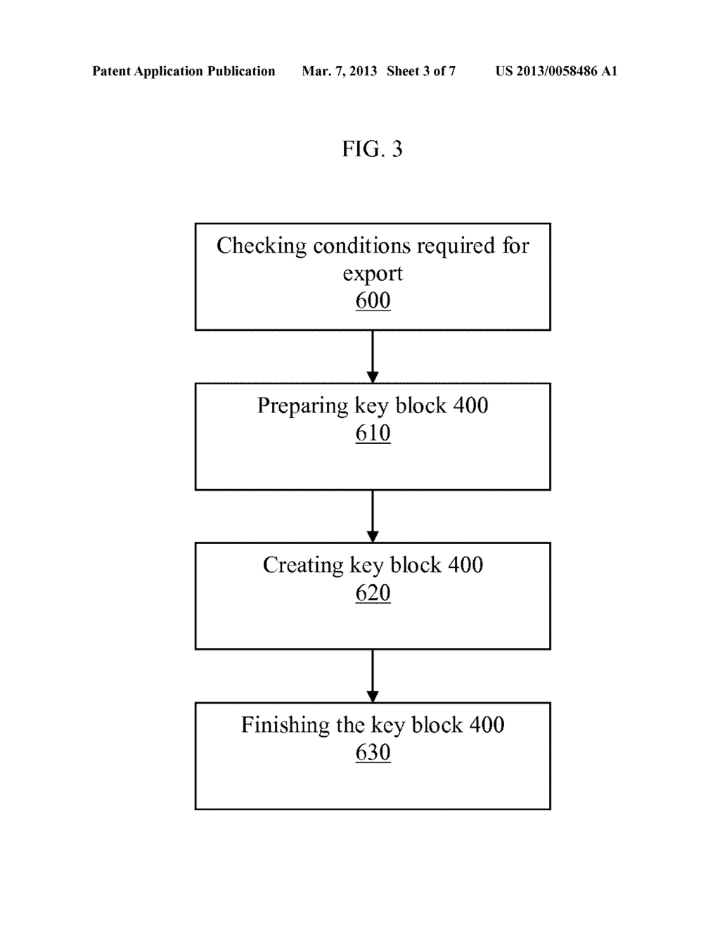 METHOD OF PROTECTING A CONTROL VECTOR IN AN OPTIONAL BLOCK OF A STANDARD     KEY BLOCK - diagram, schematic, and image 04