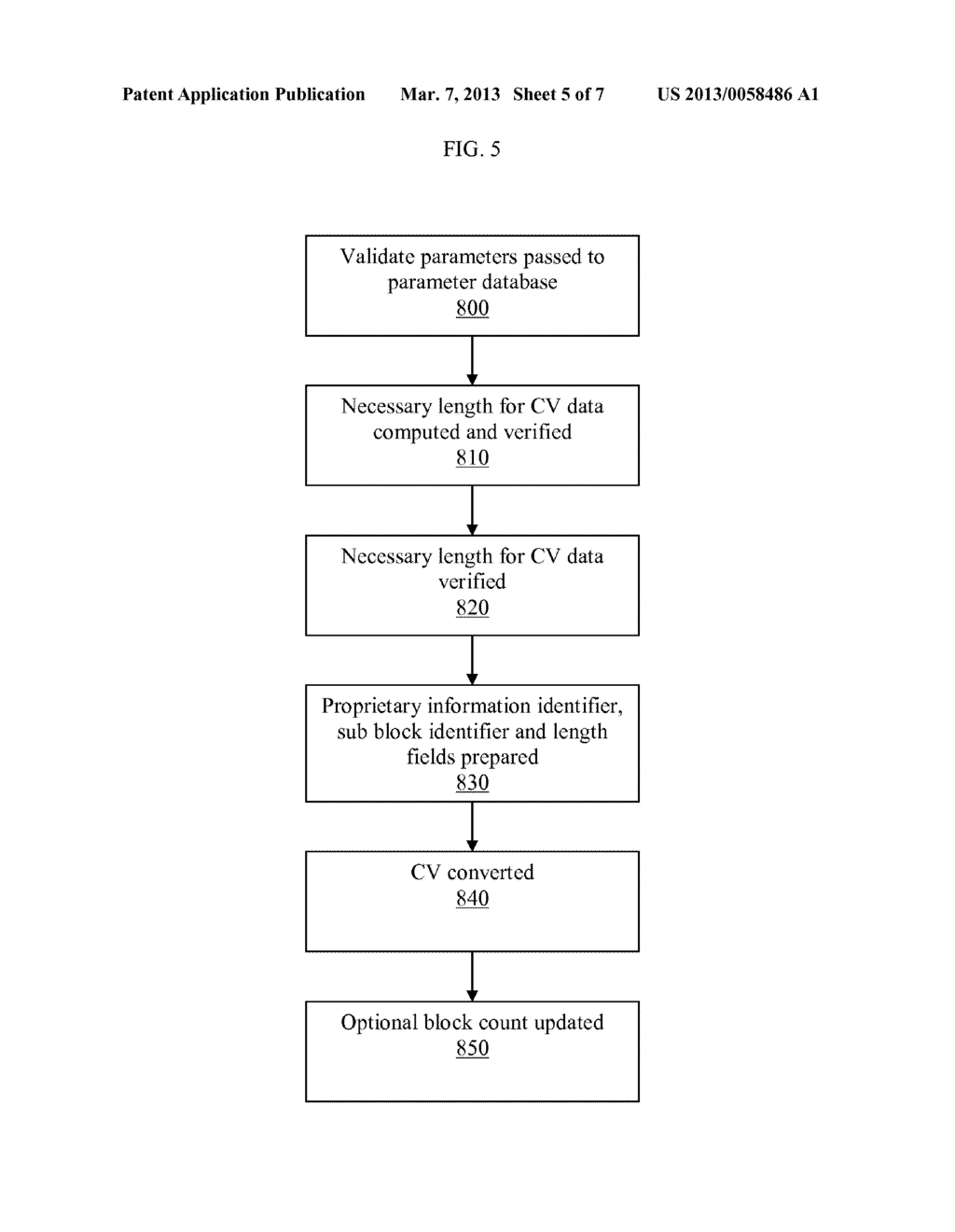 METHOD OF PROTECTING A CONTROL VECTOR IN AN OPTIONAL BLOCK OF A STANDARD     KEY BLOCK - diagram, schematic, and image 06