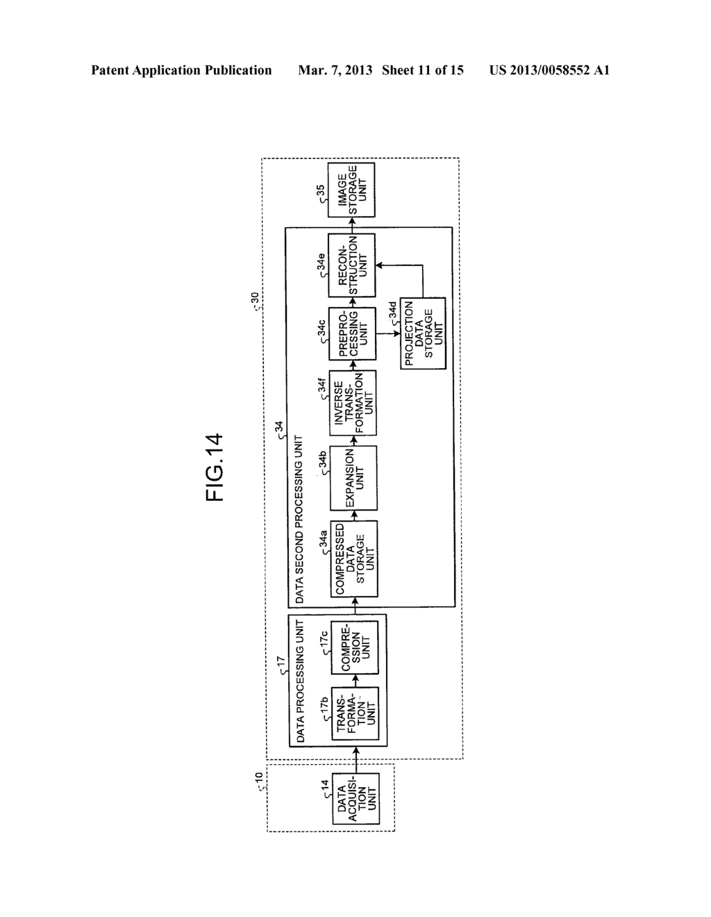 RADIATION DETECTION DATA PROCESSING APPARATUS AND METHOD - diagram, schematic, and image 12