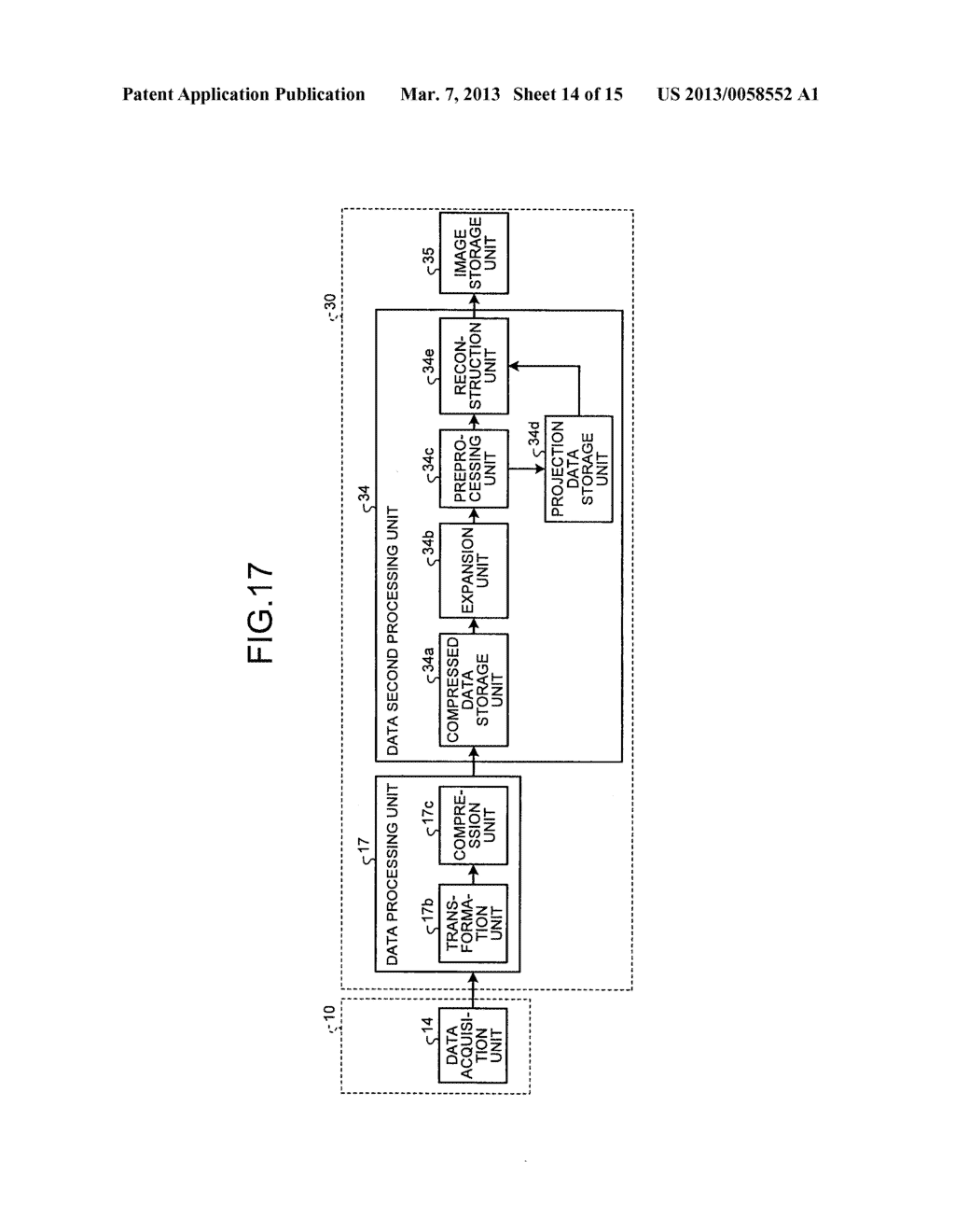 RADIATION DETECTION DATA PROCESSING APPARATUS AND METHOD - diagram, schematic, and image 15