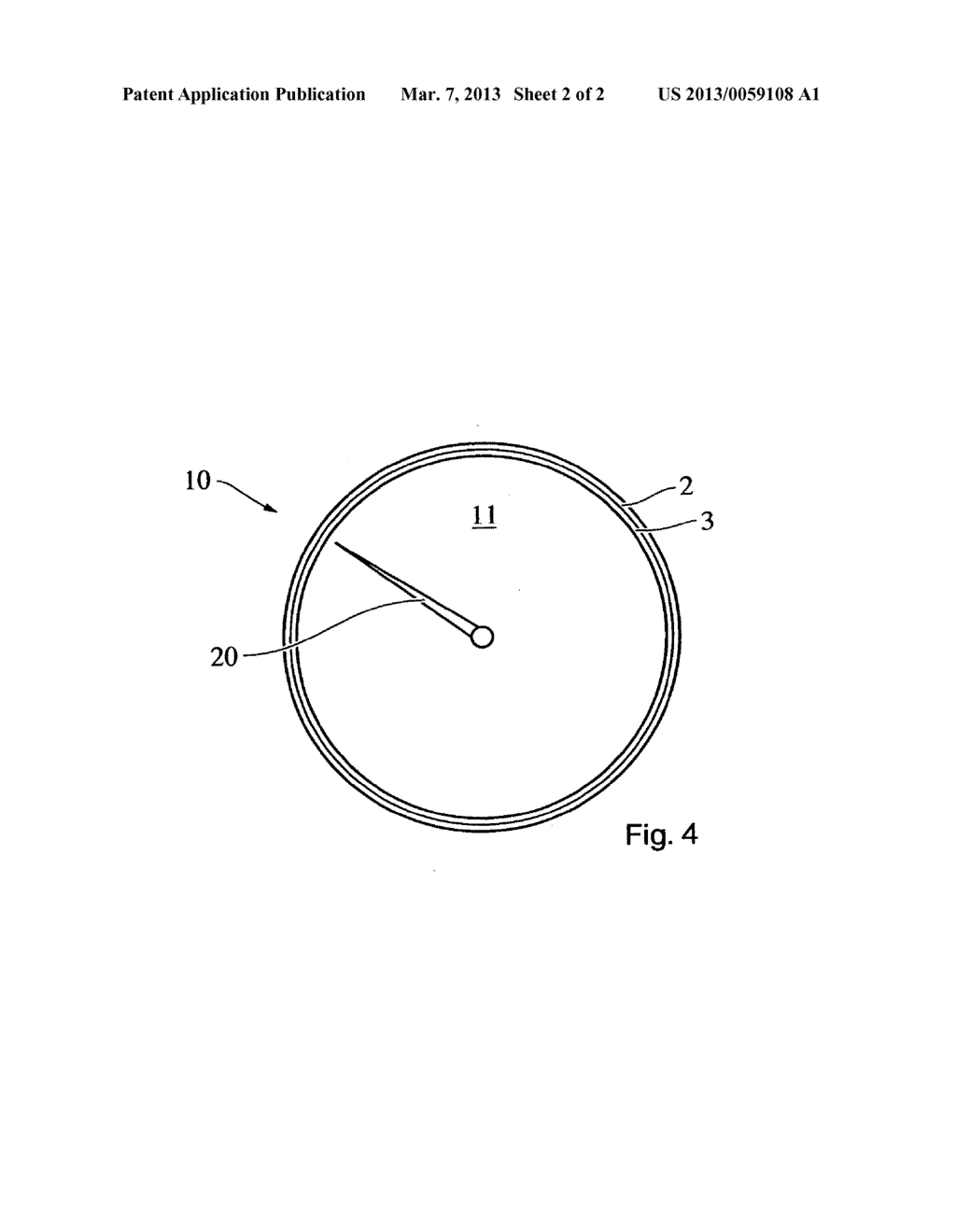 DECORATIVE ELEMENT, DASHBOARD, AND METHOD FOR MANUFACTURING A DECORATIVE     ELEMENT - diagram, schematic, and image 03