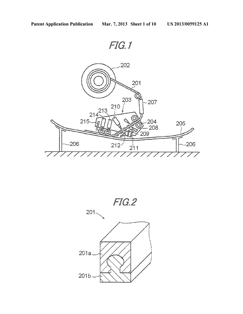 MANUFACTURING APPARATUS AND MANUFACTURING METHOD OF COMPOSITE STRUCTURAL     MEMBER - diagram, schematic, and image 02