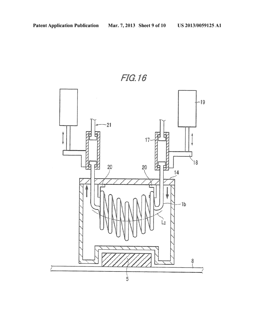 MANUFACTURING APPARATUS AND MANUFACTURING METHOD OF COMPOSITE STRUCTURAL     MEMBER - diagram, schematic, and image 10
