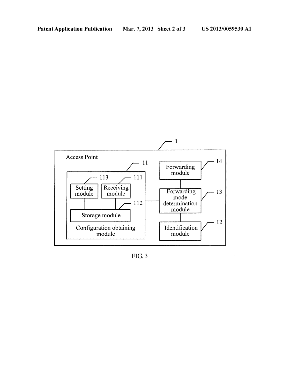 MESSAGE FORWARDING METHOD, ACCESS POINT, AND SYSTEM - diagram, schematic, and image 03