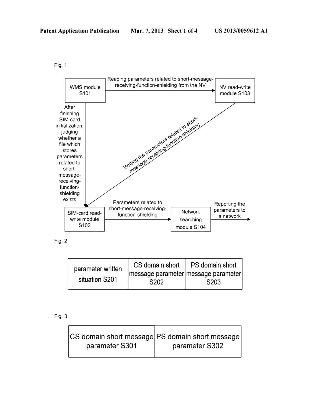Method and data card for shielding short message receiving function - diagram, schematic, and image 02