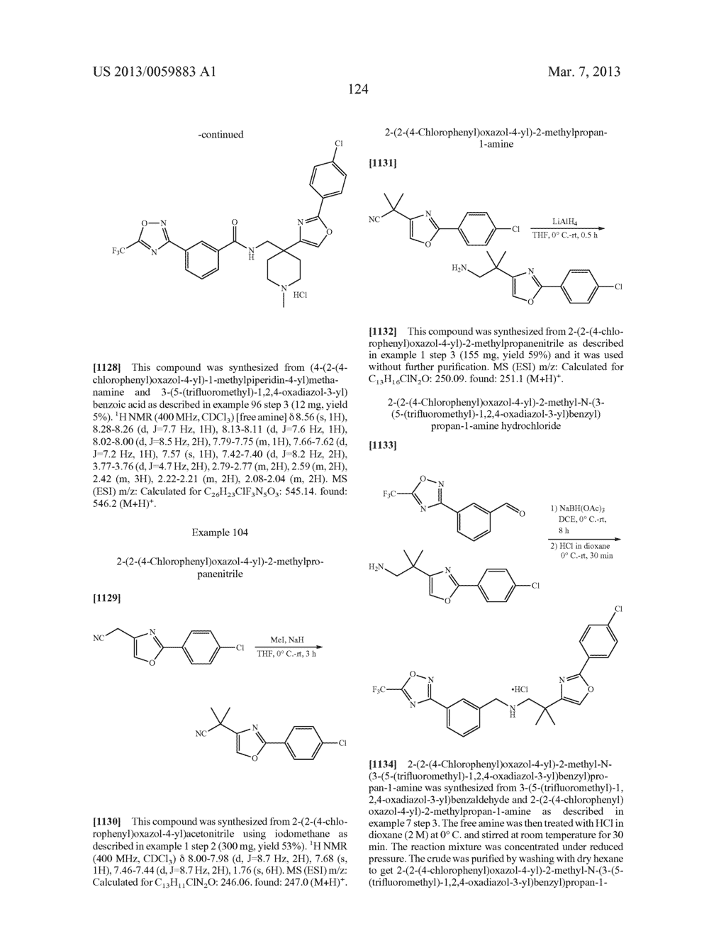 COMPOUNDS AND METHODS - diagram, schematic, and image 125