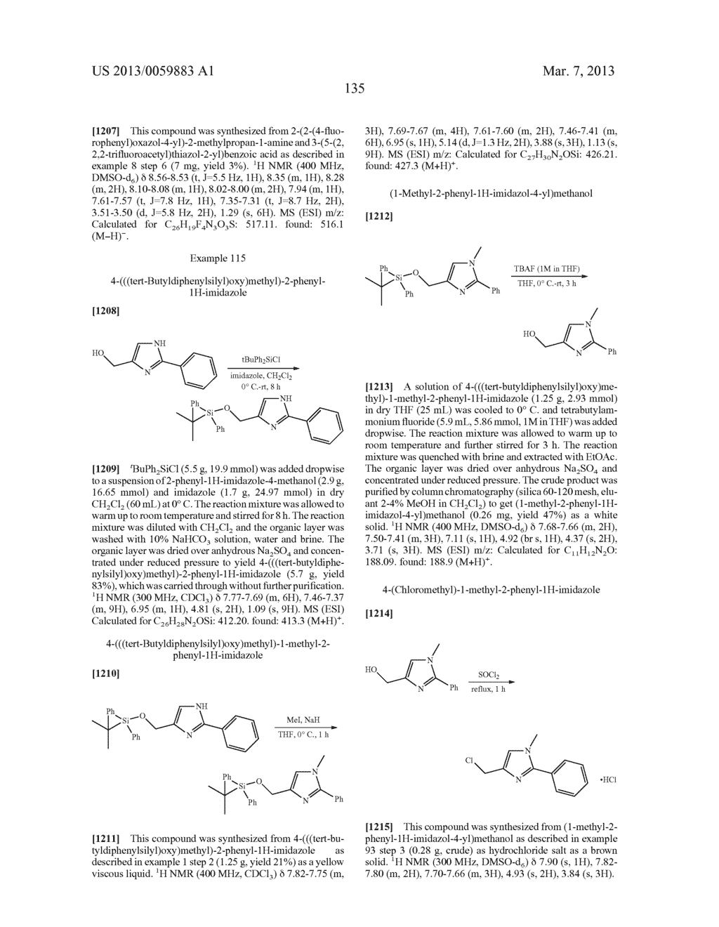 COMPOUNDS AND METHODS - diagram, schematic, and image 136