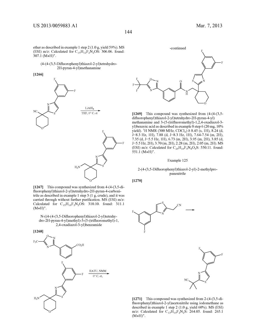COMPOUNDS AND METHODS - diagram, schematic, and image 145