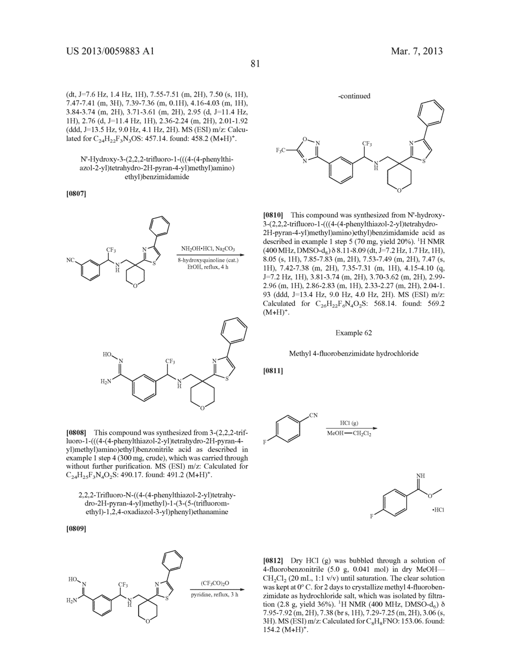 COMPOUNDS AND METHODS - diagram, schematic, and image 82