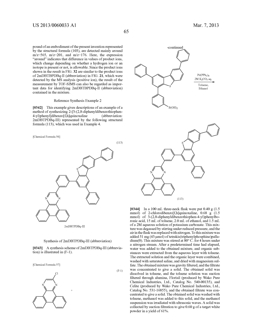 LIGHT-EMITTING ELEMENT, LIGHT-EMITTING DEVICE, ELECTRONIC DEVICE, LIGHTING     DEVICE, AND HETEROCYCLIC COMPOUND - diagram, schematic, and image 95