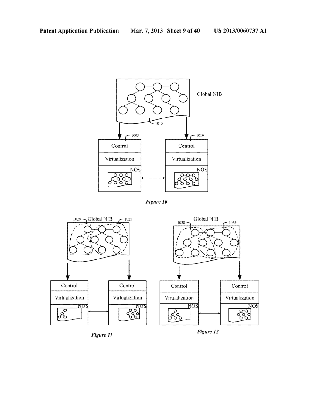 SECONDARY STORAGE ARCHITECTURE FOR A NETWORK CONTROL SYSTEM THAT UTILIZES     A PRIMARY NETWORK INFORMATION BASE - diagram, schematic, and image 10