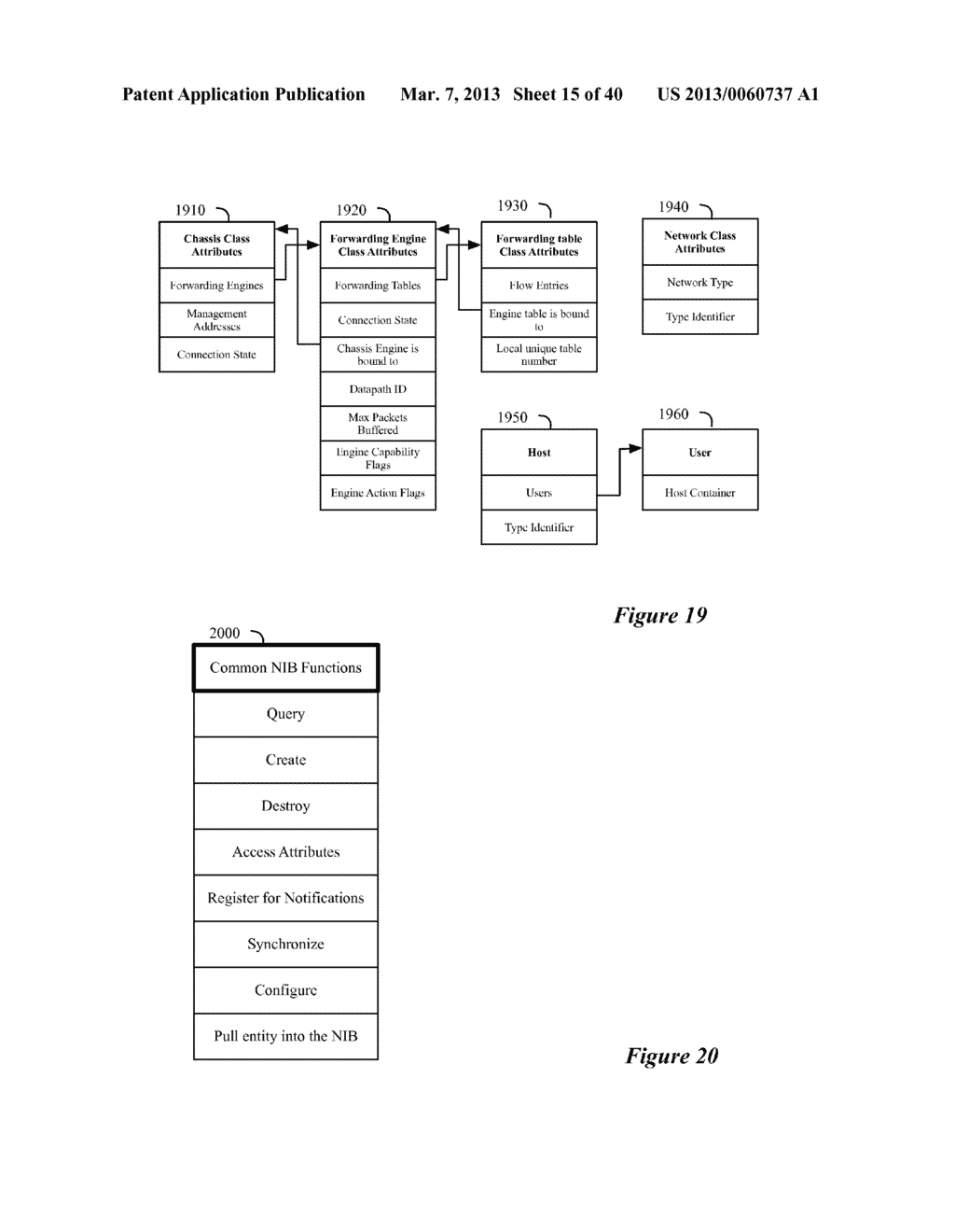 SECONDARY STORAGE ARCHITECTURE FOR A NETWORK CONTROL SYSTEM THAT UTILIZES     A PRIMARY NETWORK INFORMATION BASE - diagram, schematic, and image 16