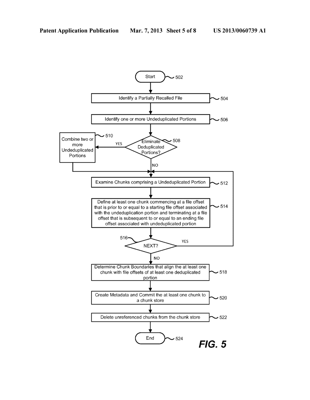Optimization of a Partially Deduplicated File - diagram, schematic, and image 06