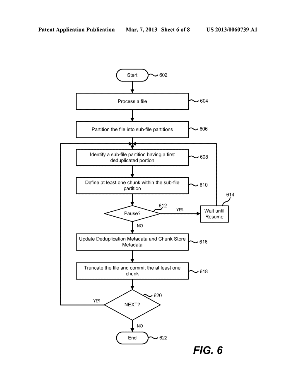 Optimization of a Partially Deduplicated File - diagram, schematic, and image 07