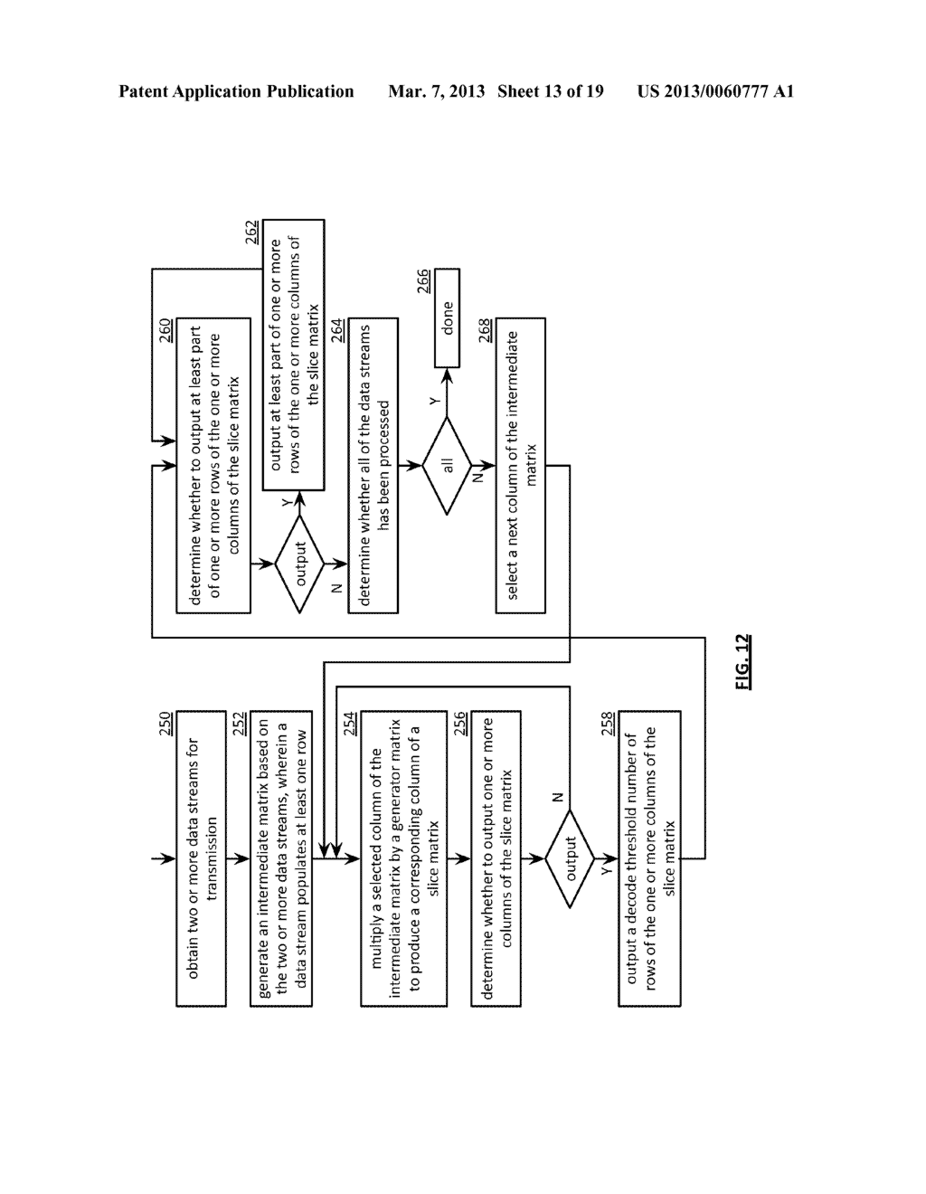 TIME ALIGNED TRANSMISSION OF CONCURRENTLY CODED DATA STREAMS - diagram, schematic, and image 14