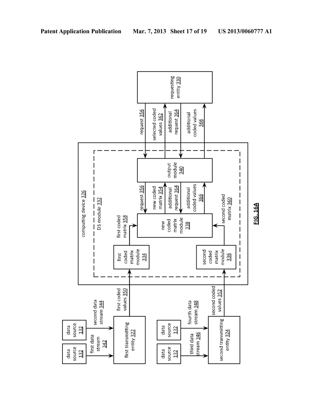 TIME ALIGNED TRANSMISSION OF CONCURRENTLY CODED DATA STREAMS - diagram, schematic, and image 18