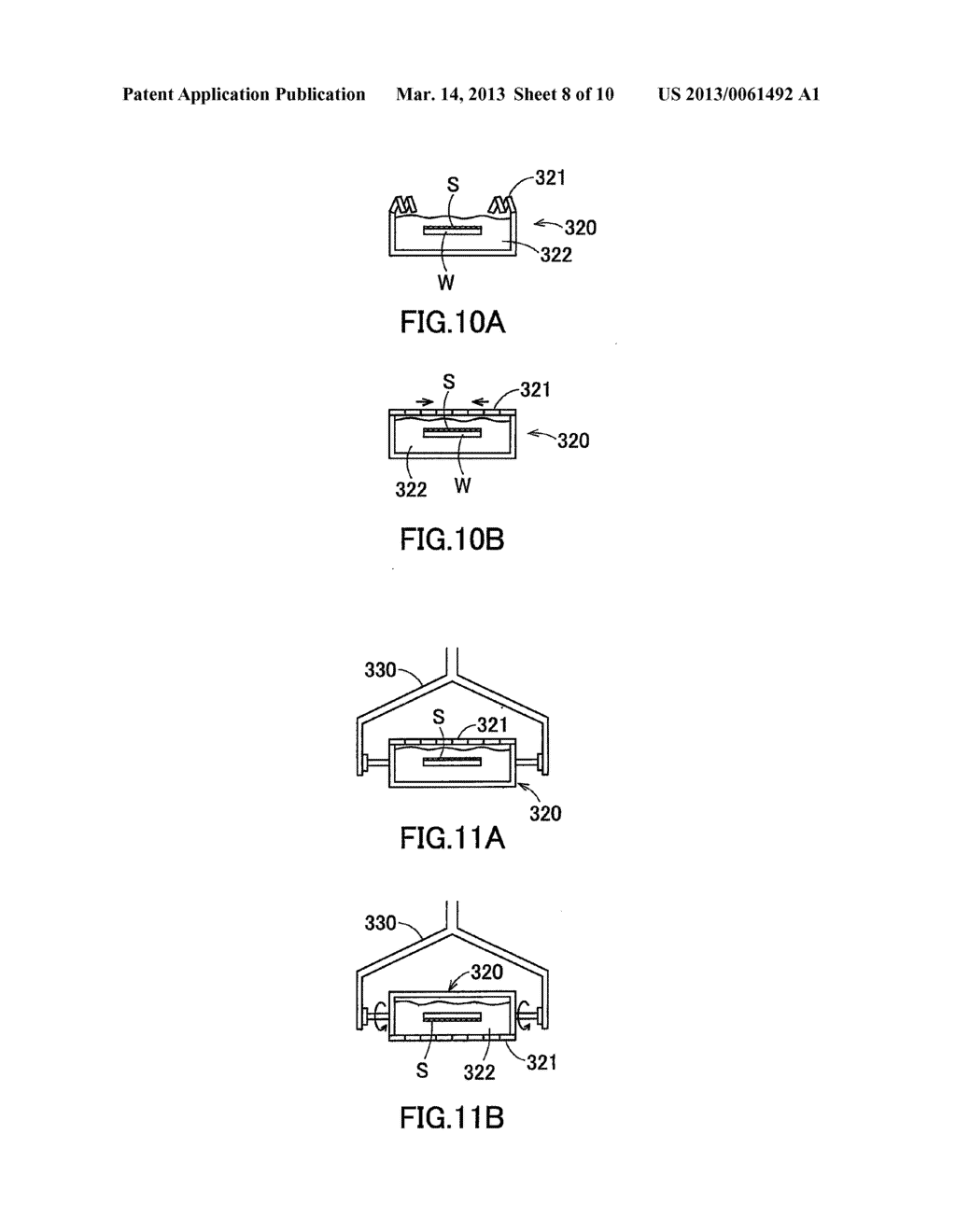 SUPERCRITICAL DRYING METHOD AND SUPERCRITICAL DRYING APPARATUS FOR     SEMICONDUCTOR SUBSTRATE - diagram, schematic, and image 09