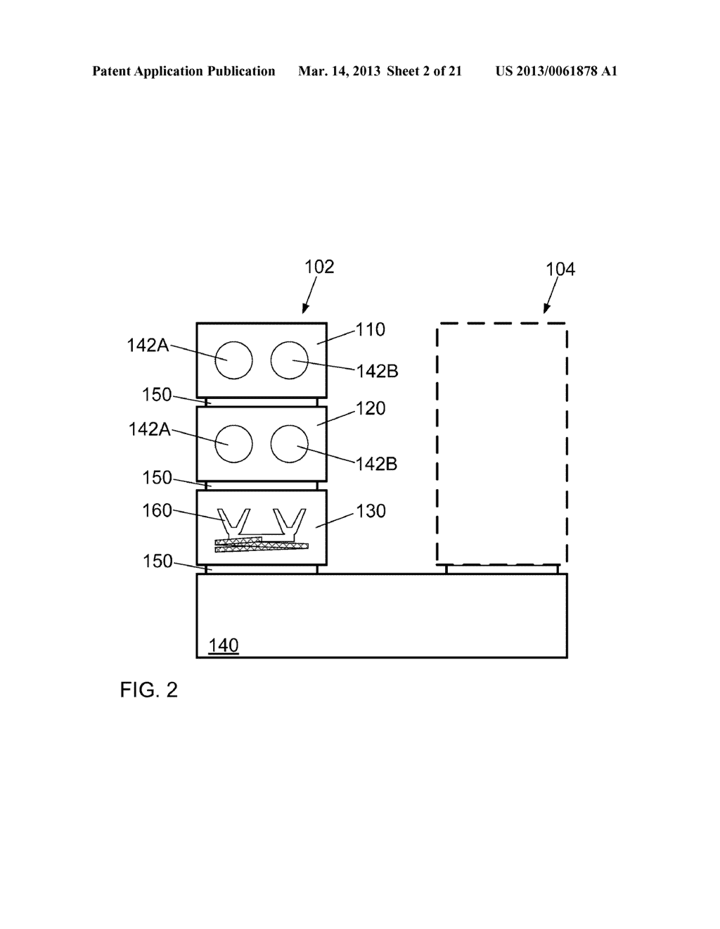 HIGH THROUGHPUT PROCESSING SYSTEM FOR CHEMICAL TREATMENT AND THERMAL     TREATMENT AND METHOD OF OPERATING - diagram, schematic, and image 03