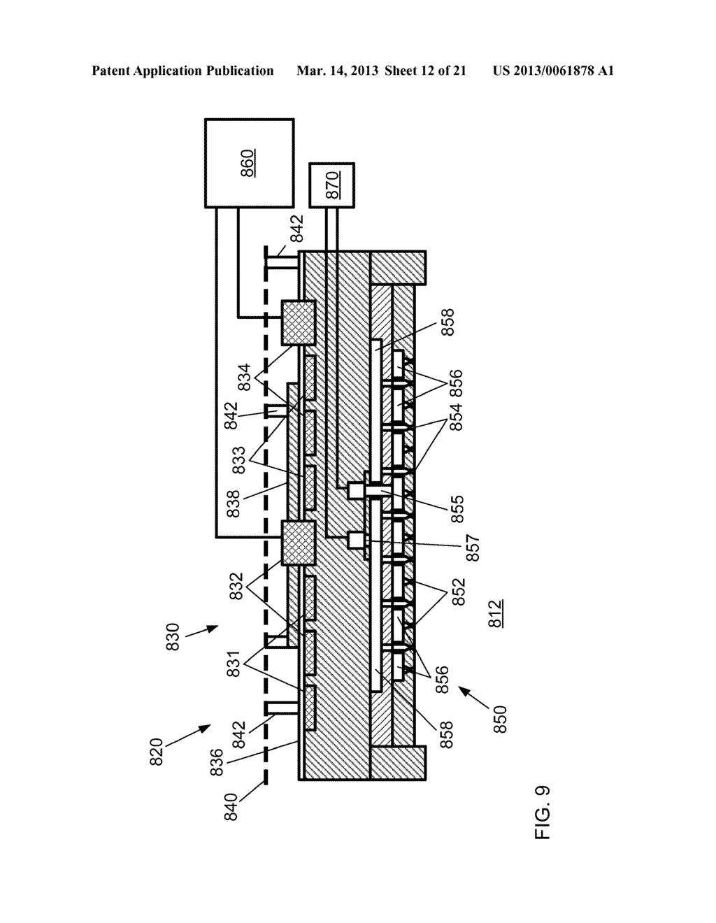 HIGH THROUGHPUT PROCESSING SYSTEM FOR CHEMICAL TREATMENT AND THERMAL     TREATMENT AND METHOD OF OPERATING - diagram, schematic, and image 13
