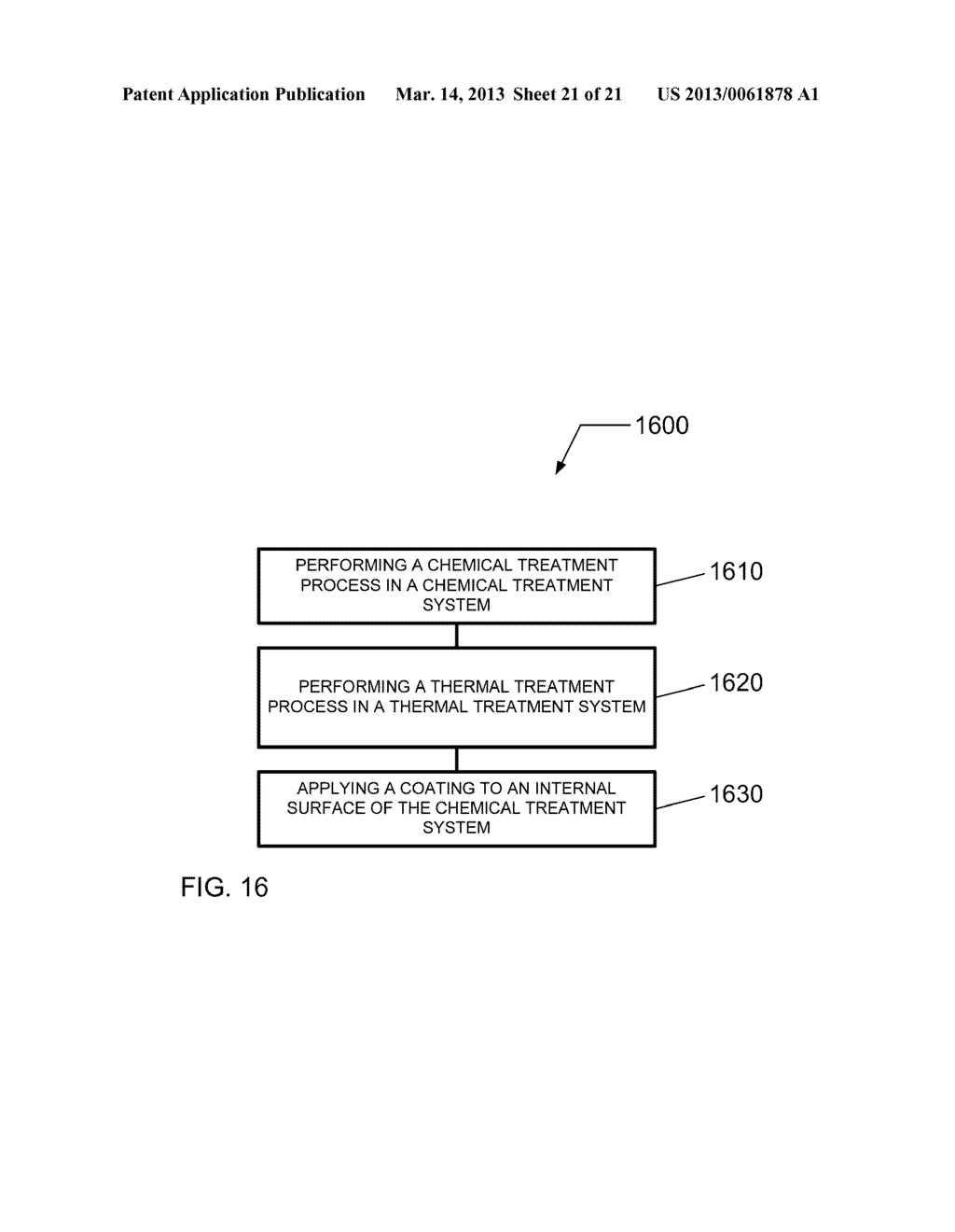 HIGH THROUGHPUT PROCESSING SYSTEM FOR CHEMICAL TREATMENT AND THERMAL     TREATMENT AND METHOD OF OPERATING - diagram, schematic, and image 22