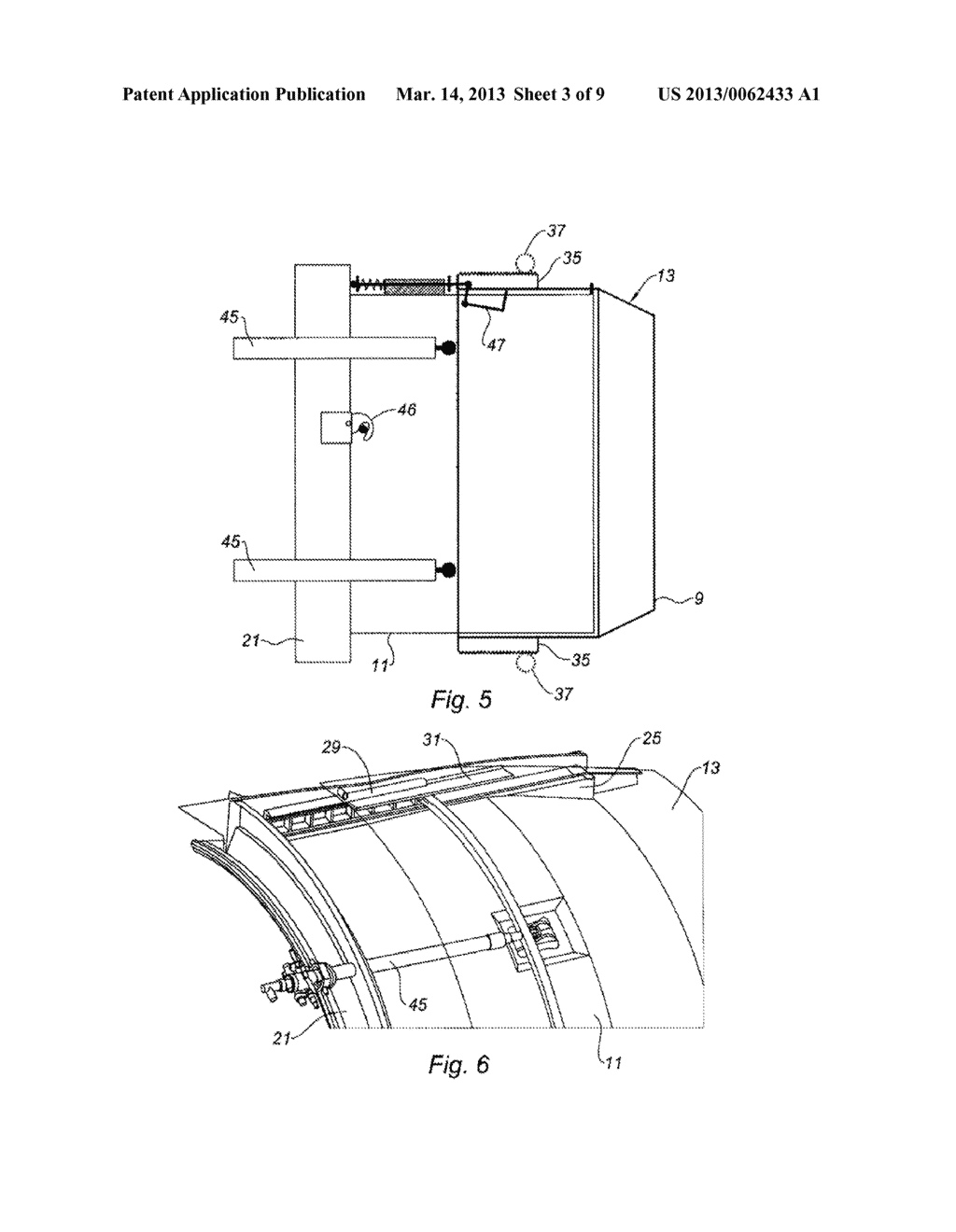 NACELLE FOR AN AIRCRAFT ENGINE WITH VARIABLE CROSS-SECTION NOZZLE - diagram,  schematic, and image 04