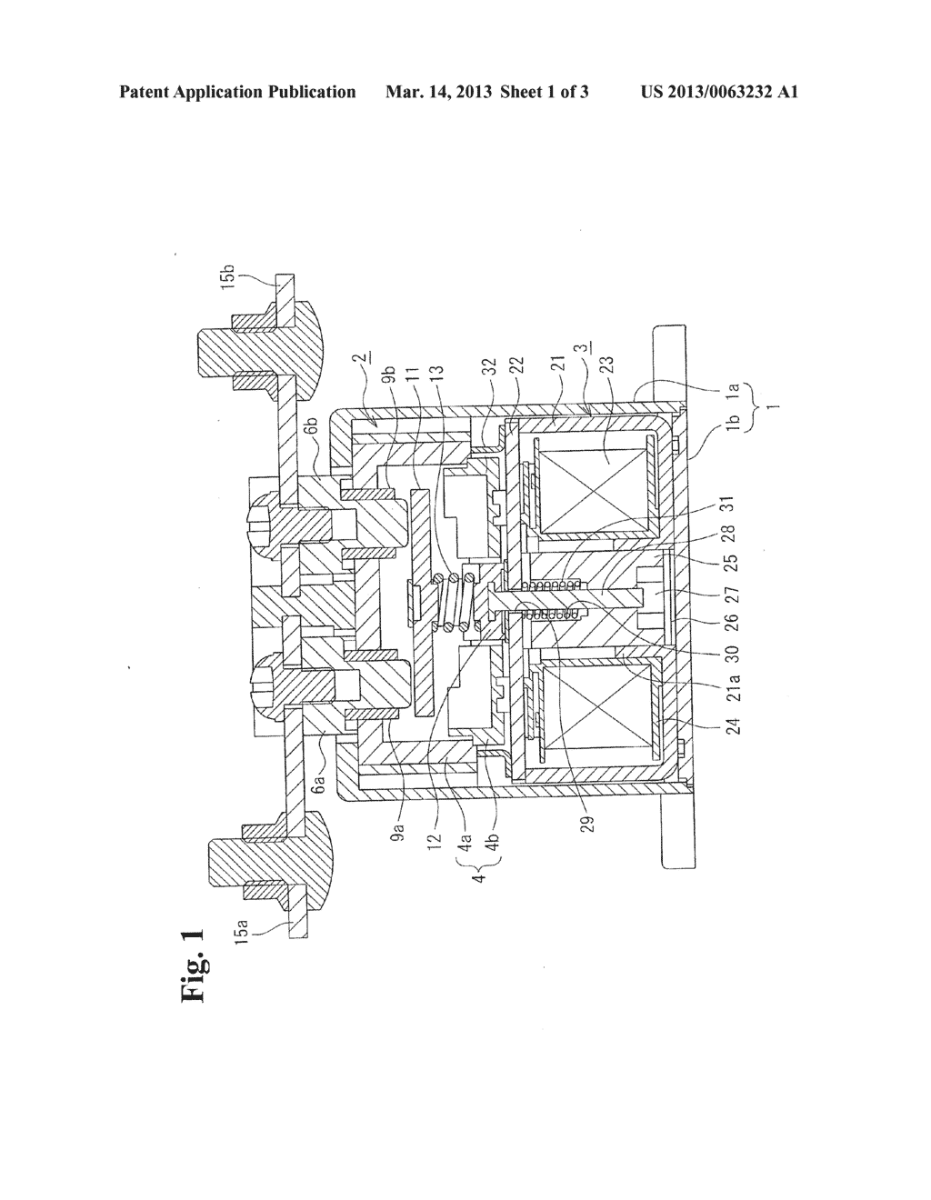 CONTACT DEVICE AND ELECTROMAGNETIC SWITCH USING CONTACT DEVICE - diagram, schematic, and image 02