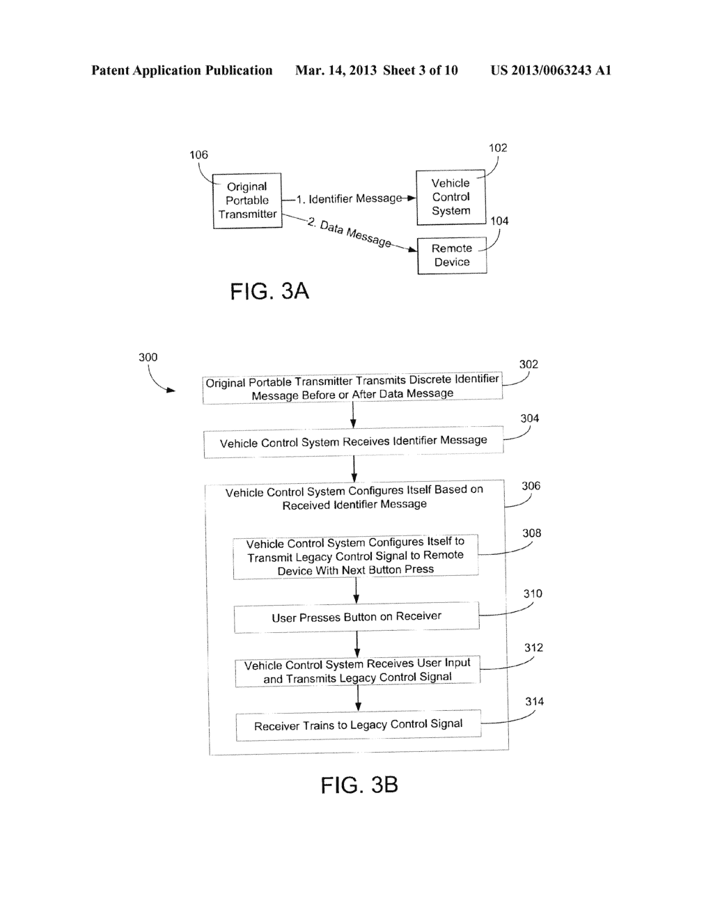 SYSTEMS AND METHODS FOR CONFIGURING AND OPERATING A WIRELESS CONTROL     SYSTEM IN A VEHICLE FOR ACTIVATION OF A REMOTE DEVICE - diagram, schematic, and image 04