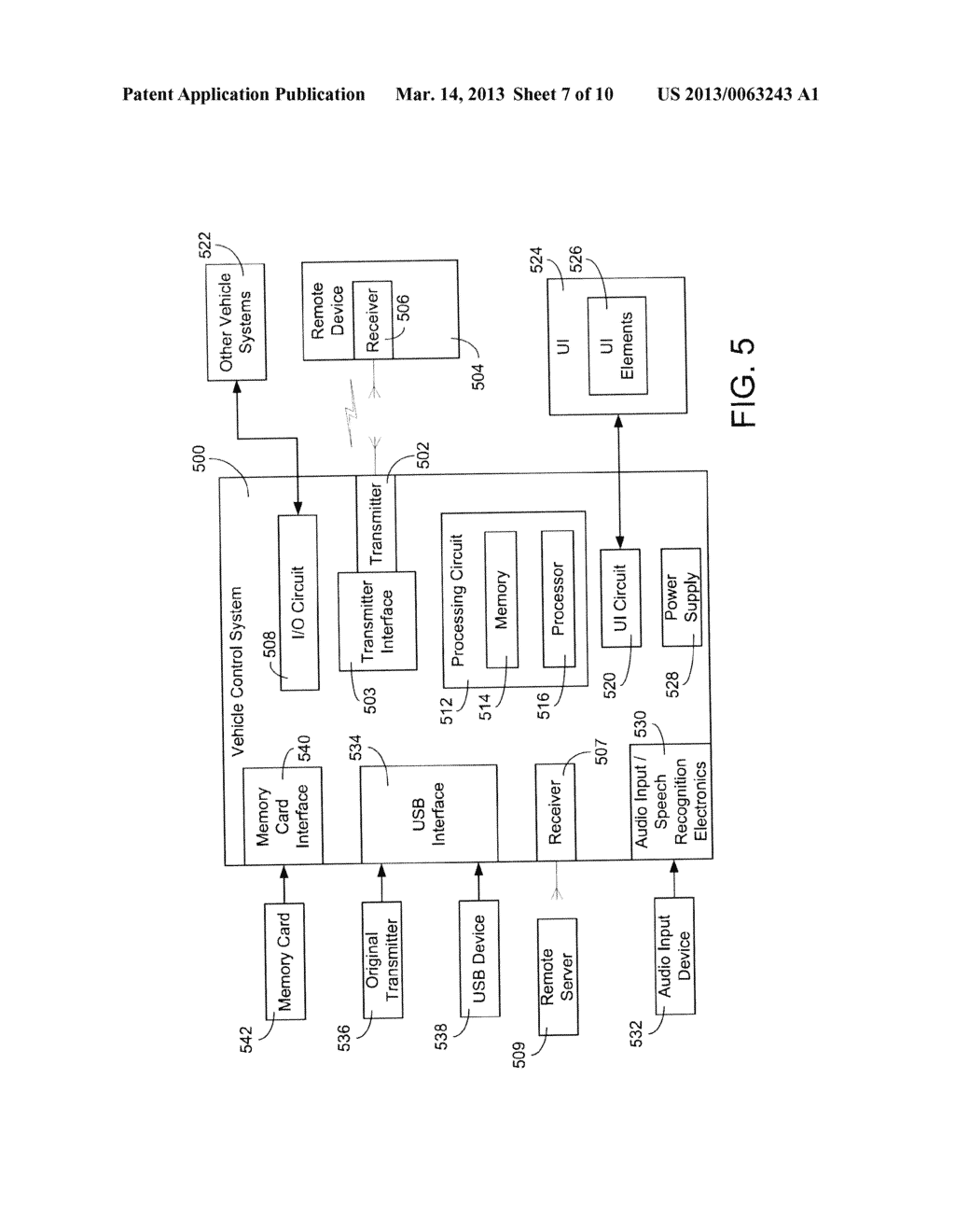 SYSTEMS AND METHODS FOR CONFIGURING AND OPERATING A WIRELESS CONTROL     SYSTEM IN A VEHICLE FOR ACTIVATION OF A REMOTE DEVICE - diagram, schematic, and image 08