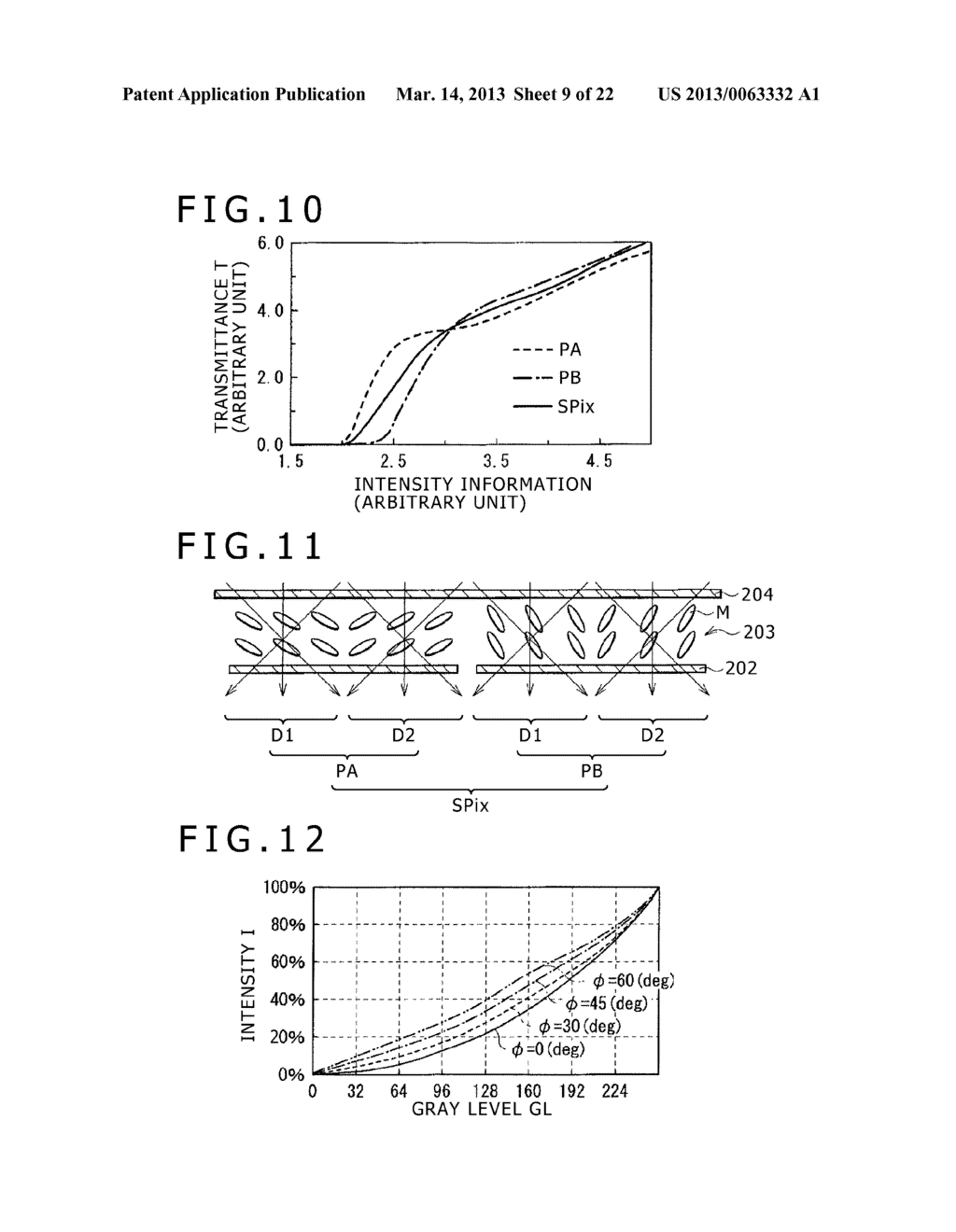 DISPLAY DEVICE, DISPLAY METHOD, AND ELECTRONIC APPARATUS - diagram, schematic, and image 10