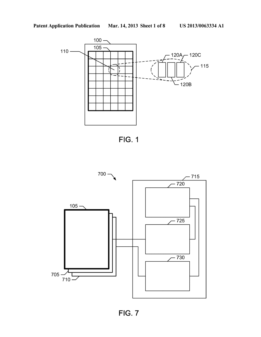 REFLECTIVE DISPLAYS, SUB-PIXELS FOR REFLECTIVE DISPLAYS AND METHODS TO     CONTROL REFLECTIVE DISPLAYS - diagram, schematic, and image 02