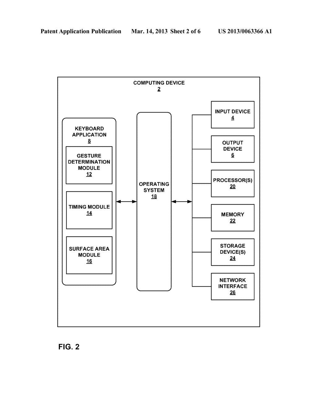 USER INPUTS OF A TOUCH-SENSITIVE DEVICE - diagram, schematic, and image 03