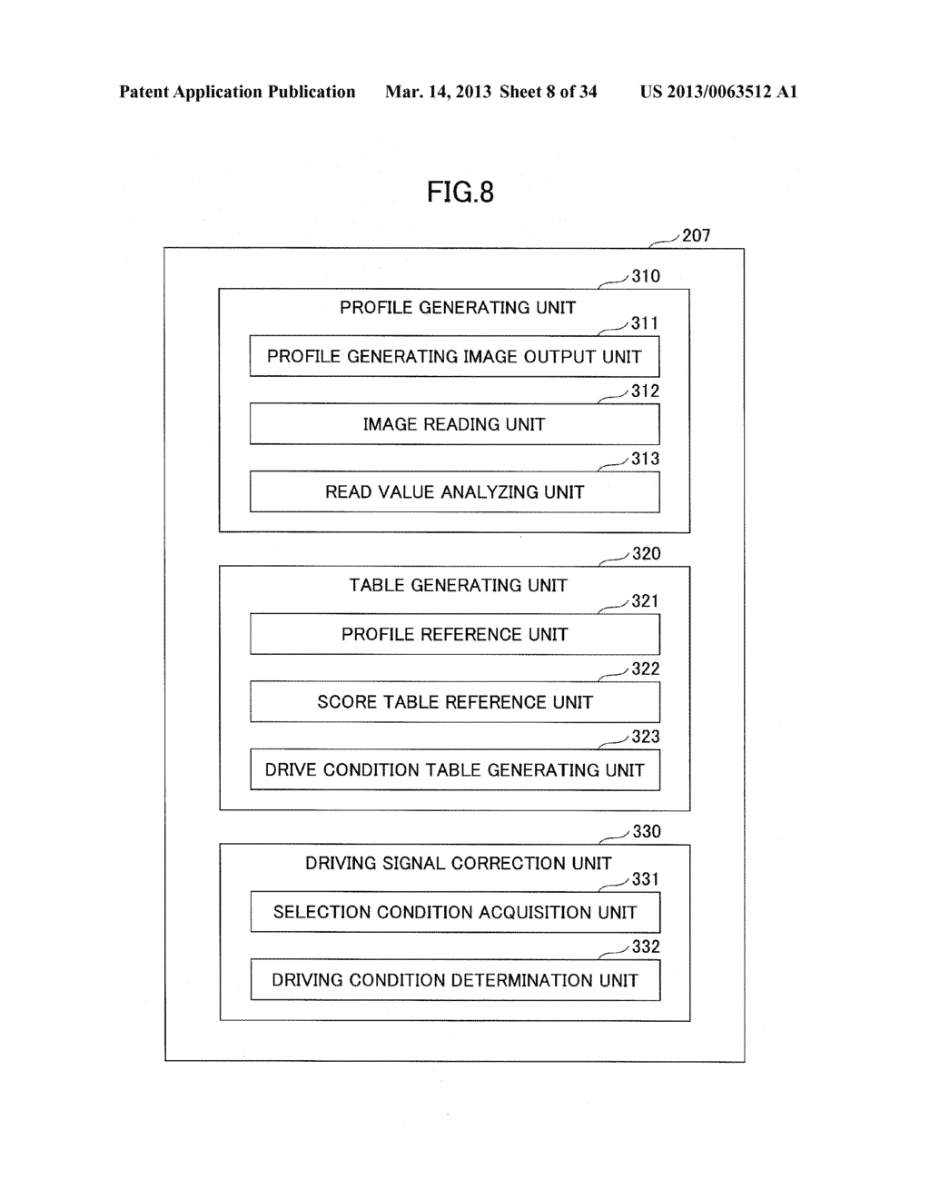 IMAGE FORMING APPARATUS, IMAGE CORRECTION METHOD, AND NON-TRANSITORY     COMPUTER READABLE RECORDING MEDIUM STORING IMAGE CORRECTION PROGRAM - diagram, schematic, and image 09