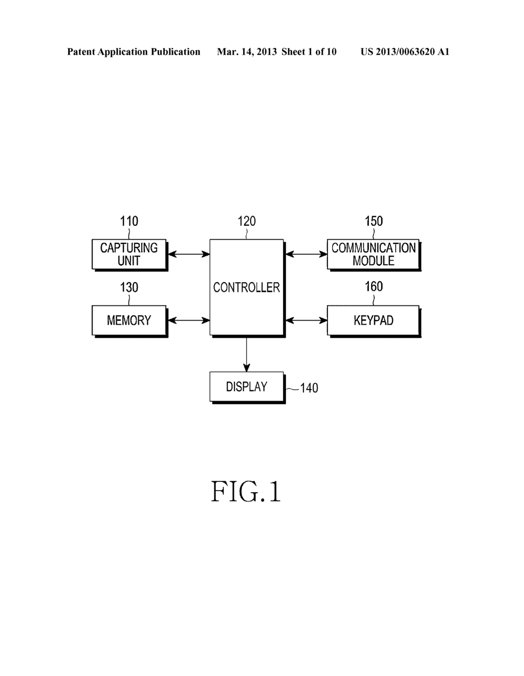 APPARATUS FOR RECOGNIZING CHARACTER AND BARCODE SIMULTANEOUSLY AND METHOD     FOR CONTROLLING THE SAME - diagram, schematic, and image 02