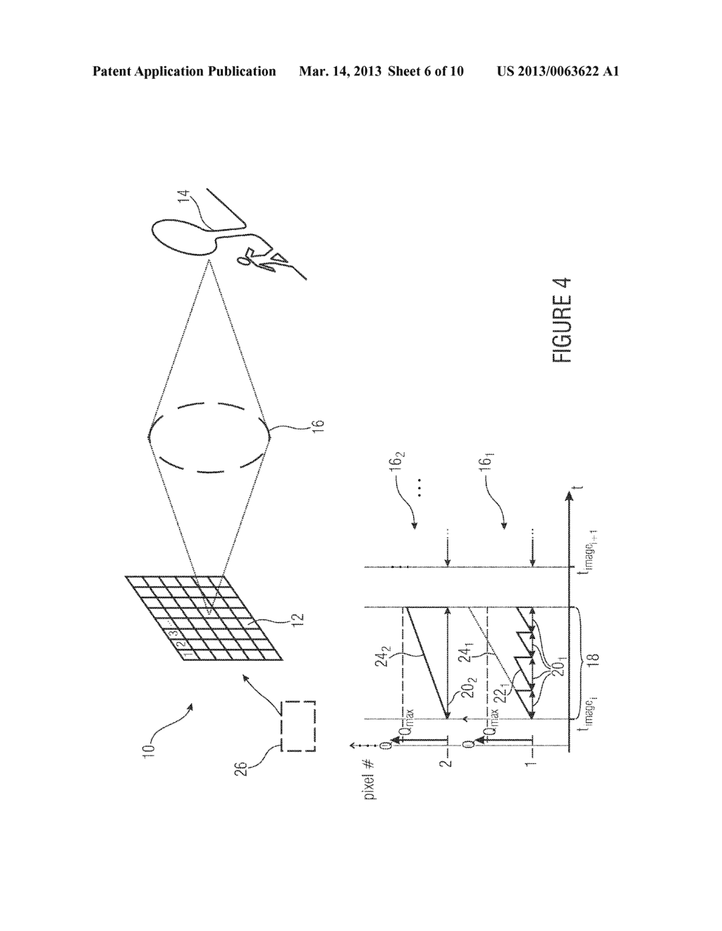 IMAGE SENSOR AND METHOD OF CAPTURING AN IMAGE - diagram, schematic, and image 07