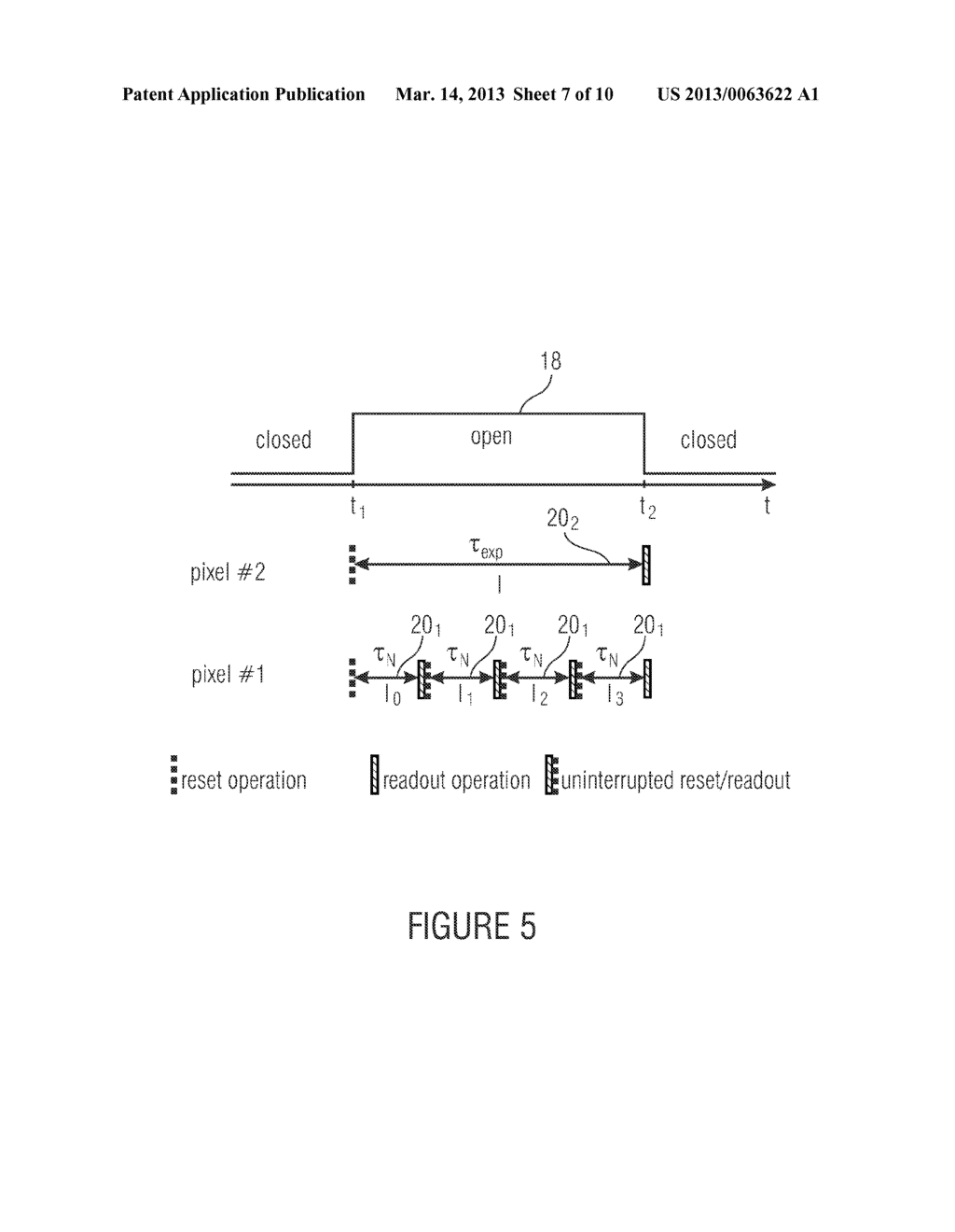 IMAGE SENSOR AND METHOD OF CAPTURING AN IMAGE - diagram, schematic, and image 08