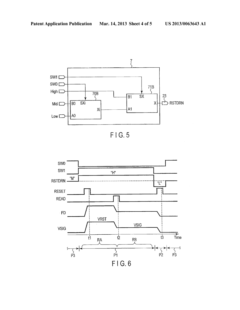 SOLID-STATE IMAGE SENSING DEVICE AND CONTROL METHOD OF SOLID-STATE IMAGE     SENSING DEVICE - diagram, schematic, and image 05