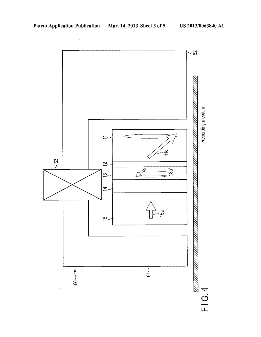 MAGNETIC HEAD AND MAGNETIC RECORDING AND REPRODUCING DEVICE - diagram, schematic, and image 04