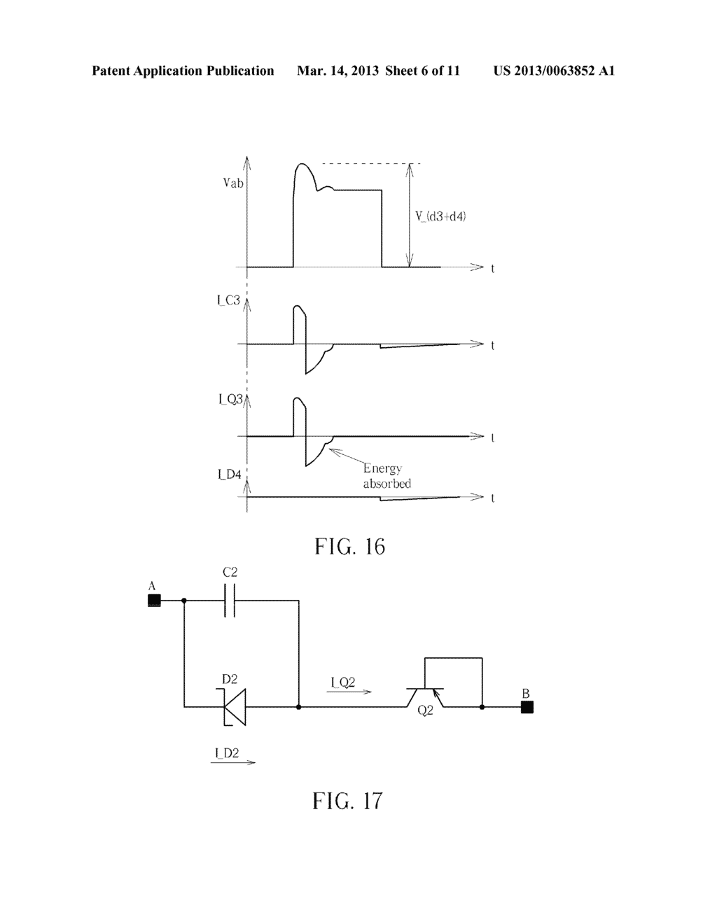 Snubber Circuit And Method Of Using Bipolar Junction Transistor In Diagram Schematic Image 07