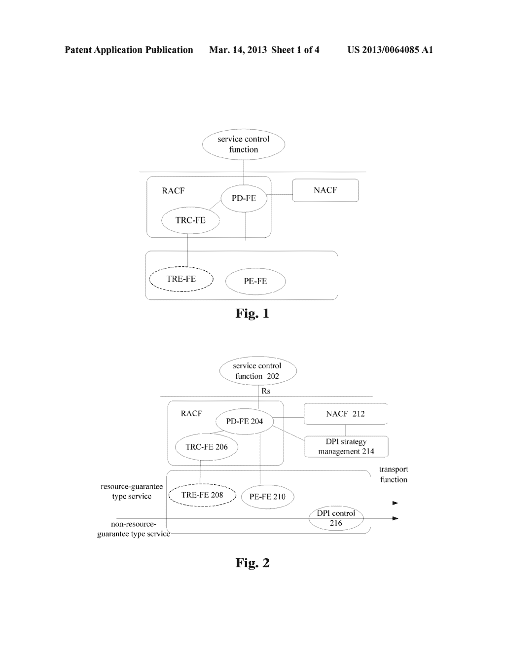 METHOD, APPARATUS AND SYSTEM FOR PROCESSING NON-RESOURCE RESERVATION TYPE     SERVICE - diagram, schematic, and image 02
