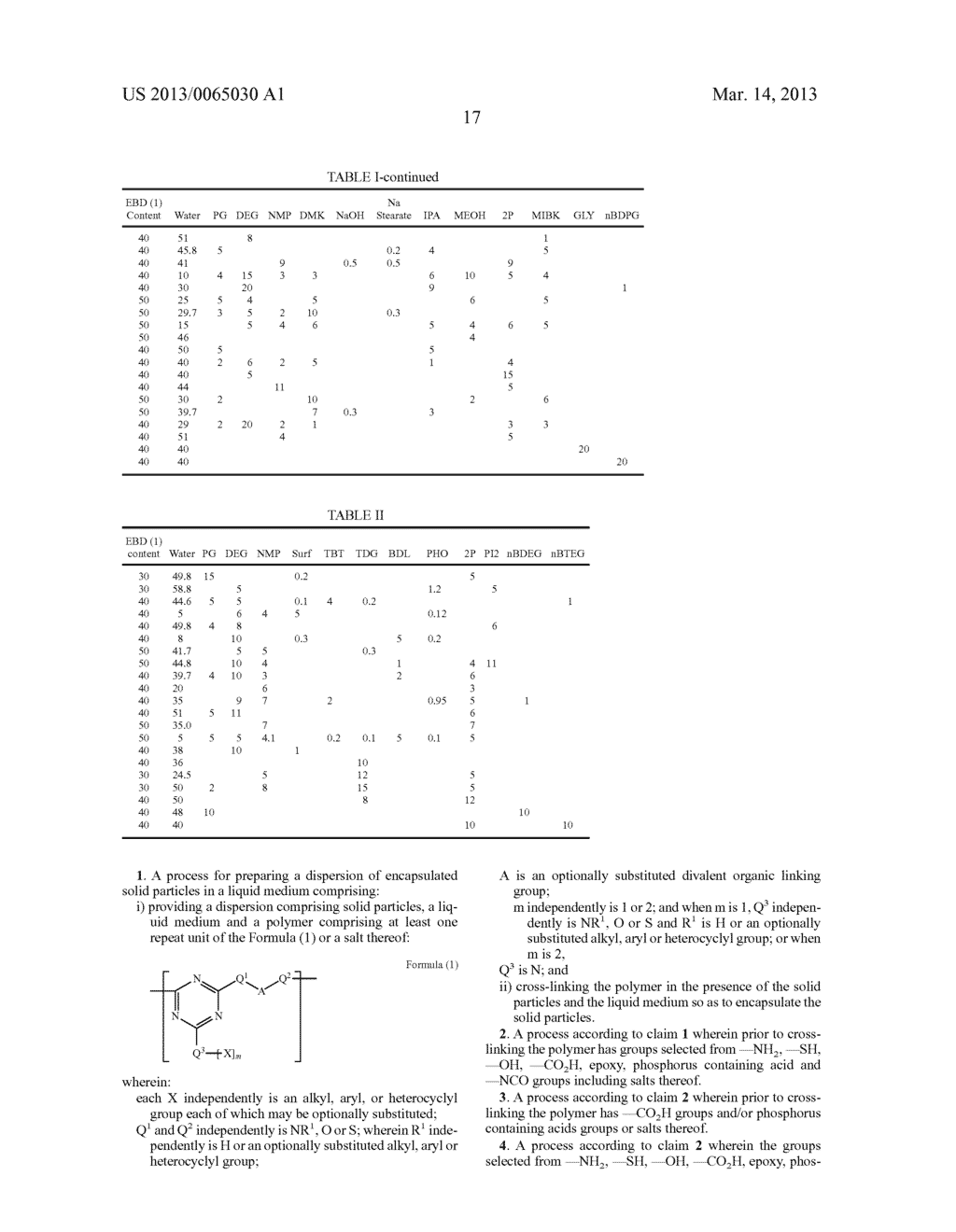 Dispersion, process for preparing a dispersion and ink jet printing ink - diagram, schematic, and image 18