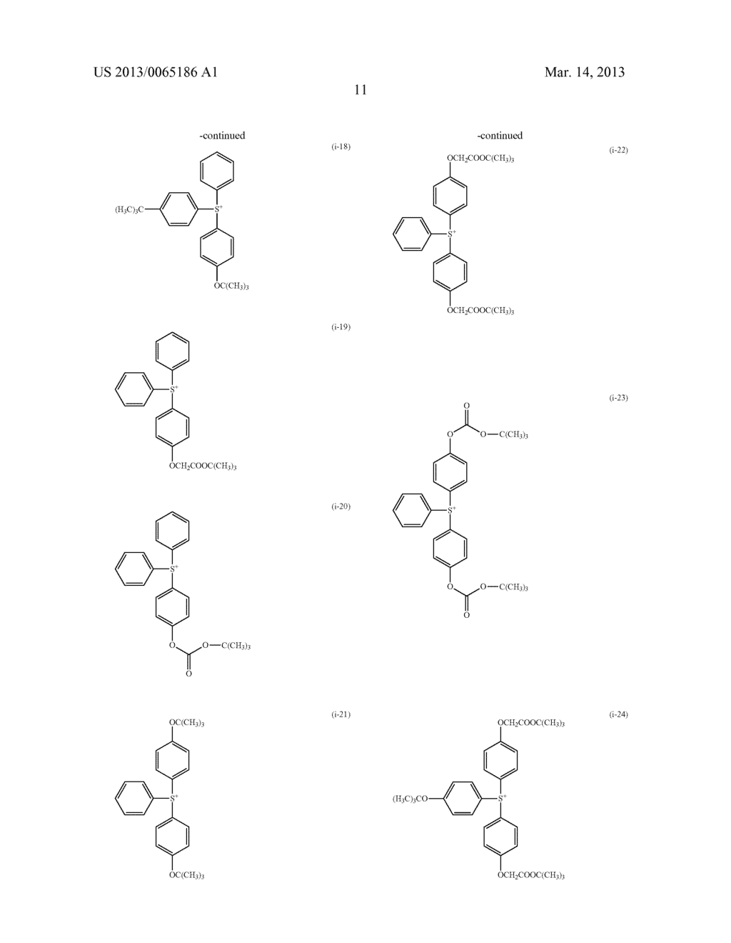 RADIATION-SENSITIVE RESIN COMPOSITION, METHOD FOR FORMING RESIST PATTERN,     ORGANIC ACID AND ACID GENERATING AGENT - diagram, schematic, and image 12