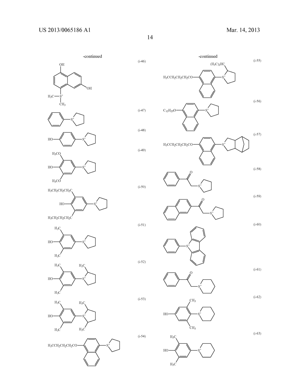 RADIATION-SENSITIVE RESIN COMPOSITION, METHOD FOR FORMING RESIST PATTERN,     ORGANIC ACID AND ACID GENERATING AGENT - diagram, schematic, and image 15