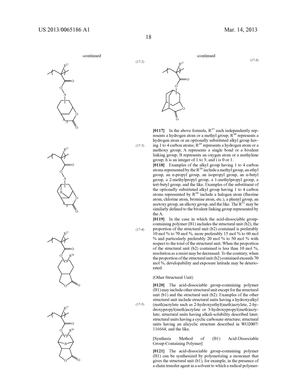 RADIATION-SENSITIVE RESIN COMPOSITION, METHOD FOR FORMING RESIST PATTERN,     ORGANIC ACID AND ACID GENERATING AGENT - diagram, schematic, and image 19